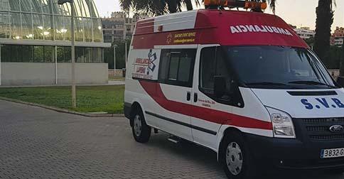 Servicio de ambulancias en Castellón