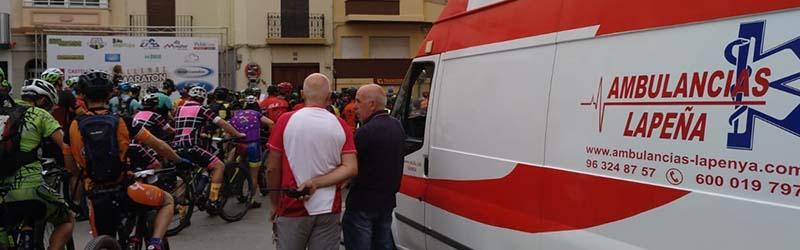 Ambulancias para eventos deportivos Valencia