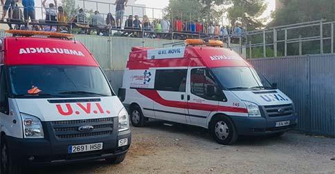 Ambulancias para eventos deportivos en Valencia