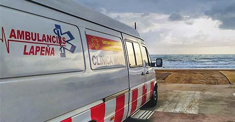 Contacto ambulancias en Castellón